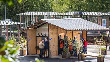 Une gare prototype à Landivisiau