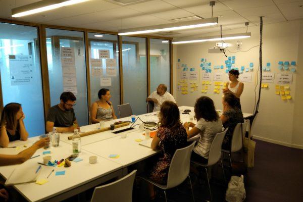 Stratégie d'animation et design méthodologique